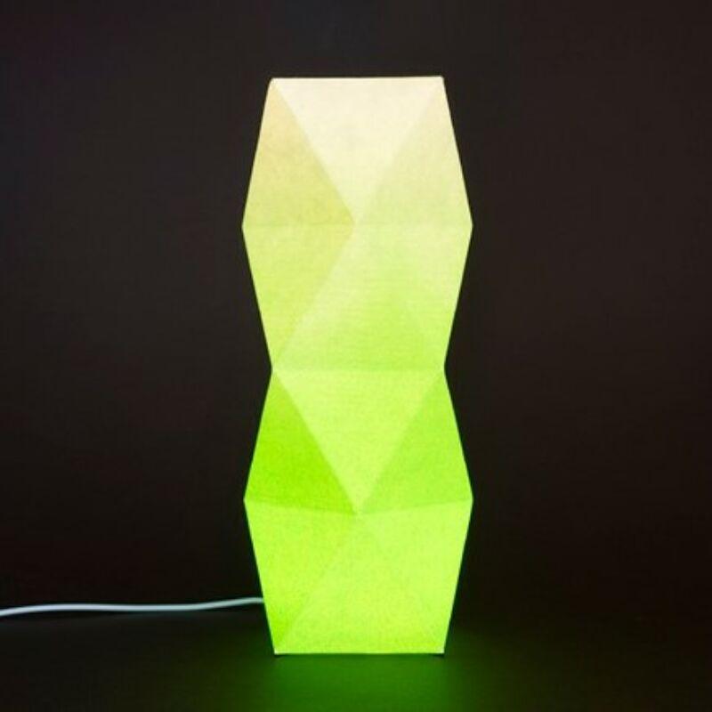 Torony lámpa zöld