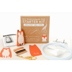 DIY Llama Embroidery Starter Kit