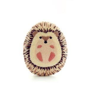 DIY Hedgehog Embroidery Starter Kit