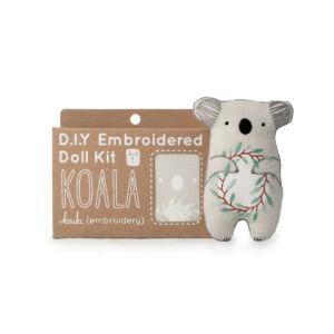 DIY Koala Embroidery Kit