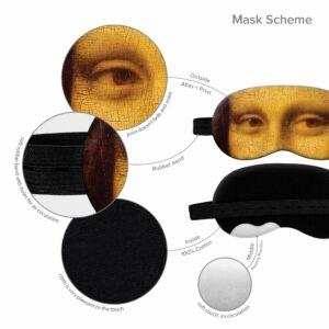 Alvómaszk-Mona Lisa