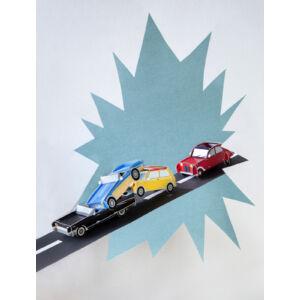 Oldtimer Autók 3D puzzle 1