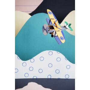 Kétfedelű Repülő 3D puzzle 2