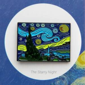 Kitűző - Csillagos éj
