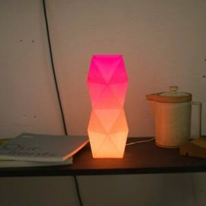 Tower Lamp – Orange-Pink