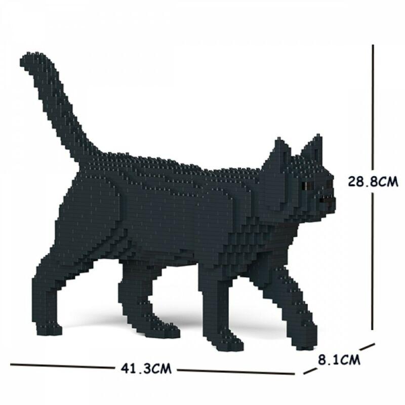 Jekca-Sétáló Fekete Macska