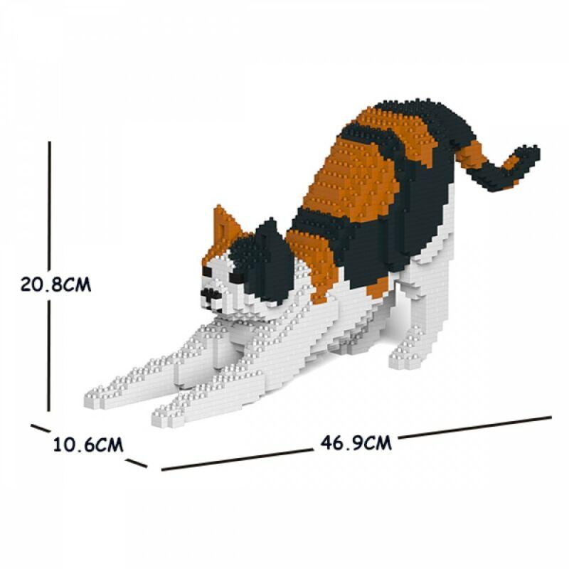 Jekca-Nyújtózkodó Calico Macska