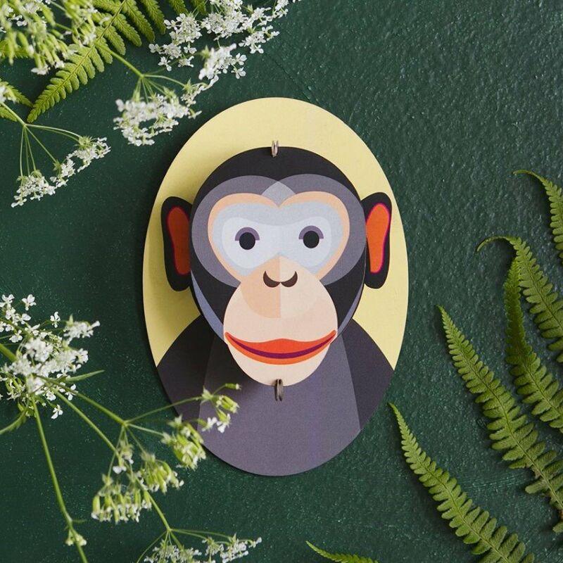 Csimpánz Falidísz