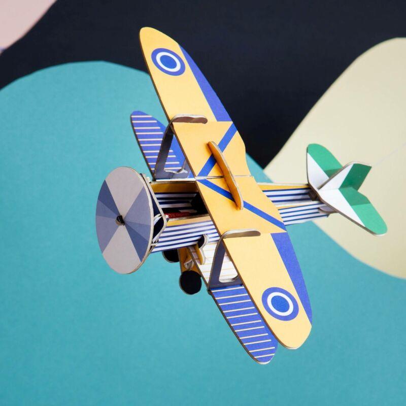 Kétfedelű Repülő 3D puzzle