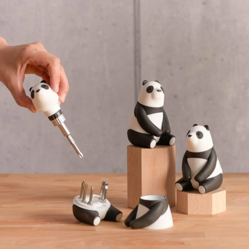 Mama panda racsnis csavarhúzó szett