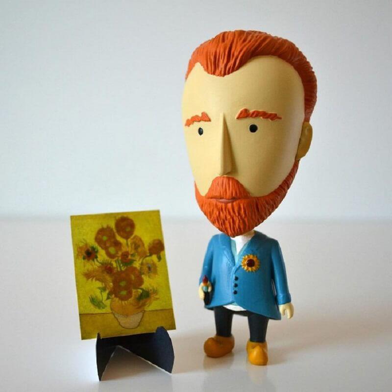 Van Gogh Napraforgók